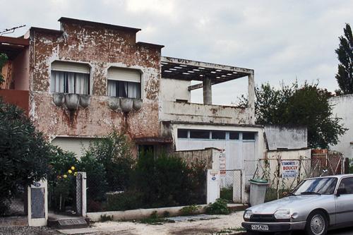 le corbusier; residência em cité frugès (fonte: http://www.flickr.com/photos/lamachineahabiter/6213446711/)
