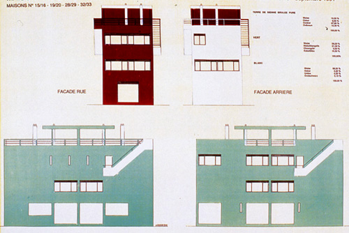 le corbusier; cité frugès (fonte: http://www.flickr.com/photos/lamachineahabiter/6211616051/)