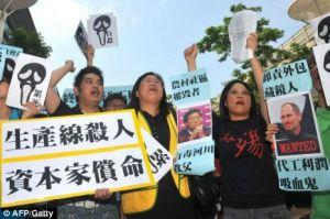 Foxconn: protesto contra condições desumanas de trabalho