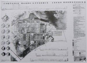 Plano de Hannes Meyer para Nizhne–Kurinsk, 1932