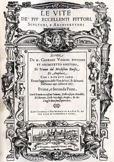Vasari, A vida dos artistas