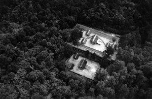 Templo de Ise em 1953