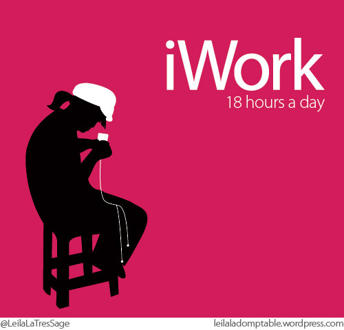 iWork 18 hours a day