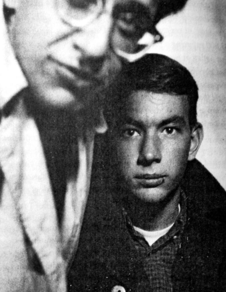 Gene Bernofsky e Clark Richert. Imagem retirada do livro Droppers, de Mark Matthews.