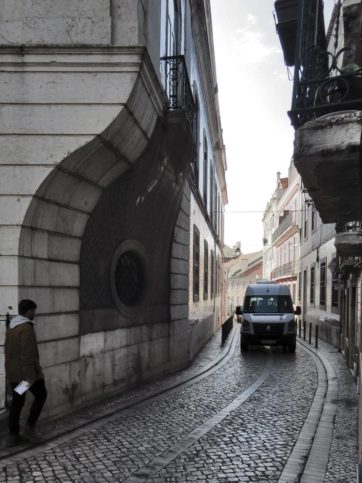 Esquina do Palácio de São Cristóvão em Lisboa