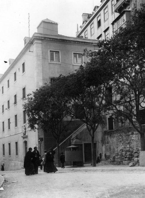 Cadeia do Aljube no início do século XX